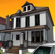 Aunt May's House from Amazing Spider-Man Vol 1 665 001