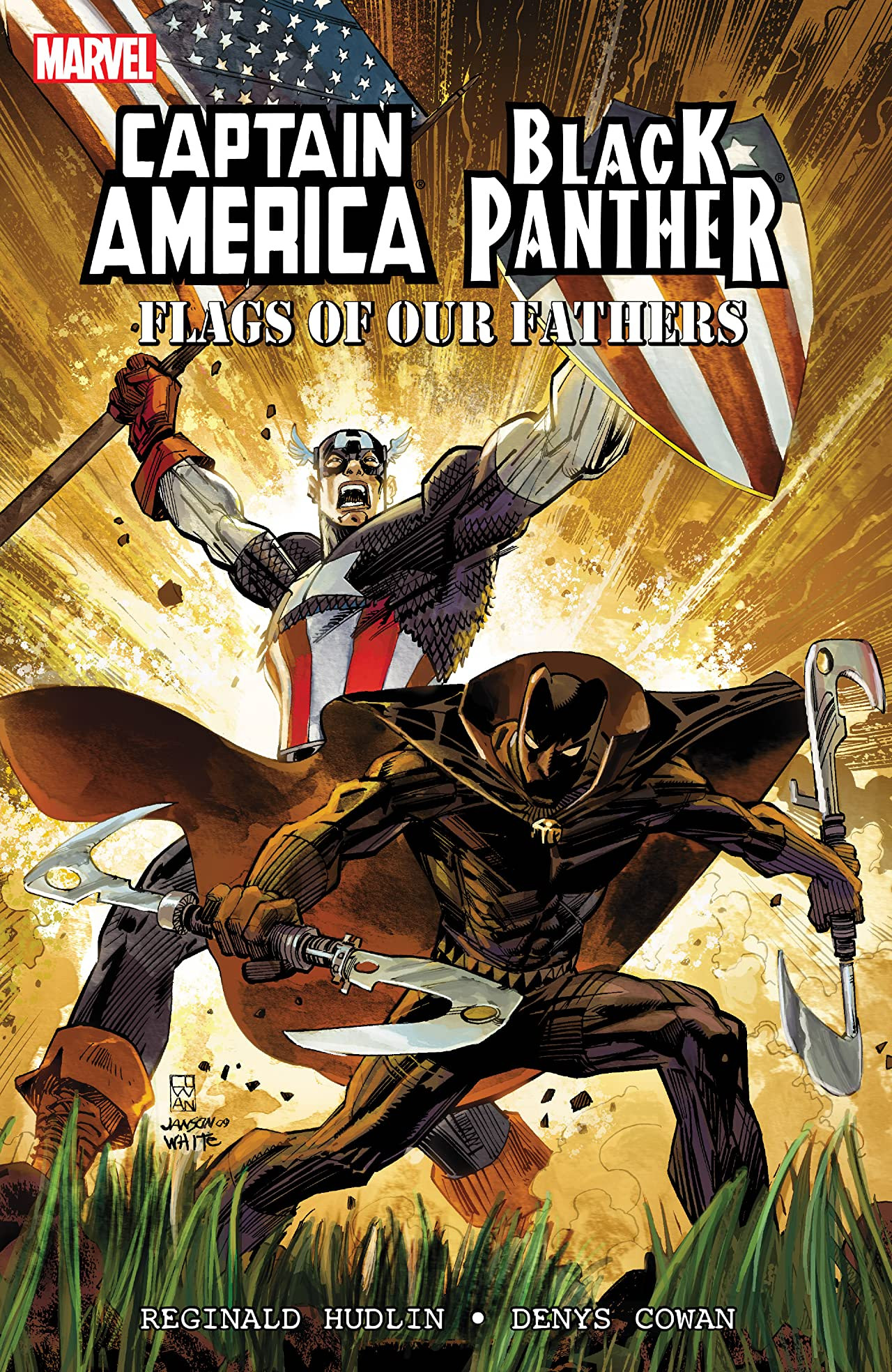 Black Panther/Captain America: Flags of Our Fathers TPB Vol 1 1