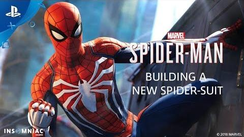 Building a New Spider-Suit - Inside Marvel's Spider-Man PS4