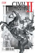 Civil War II Vol 1 1 Party Sketch Variant