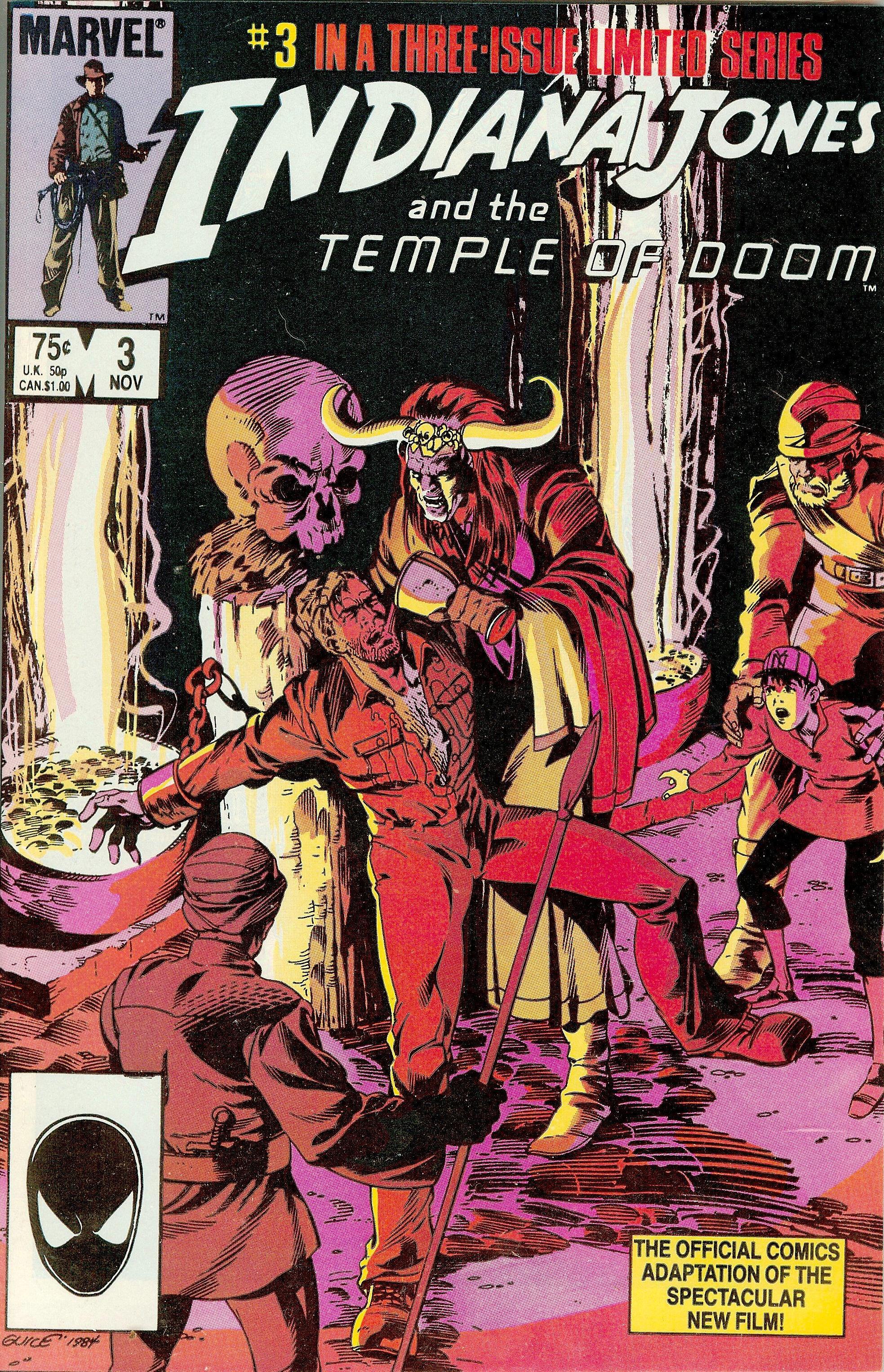 Indiana Jones and the Temple of Doom Vol 1 3