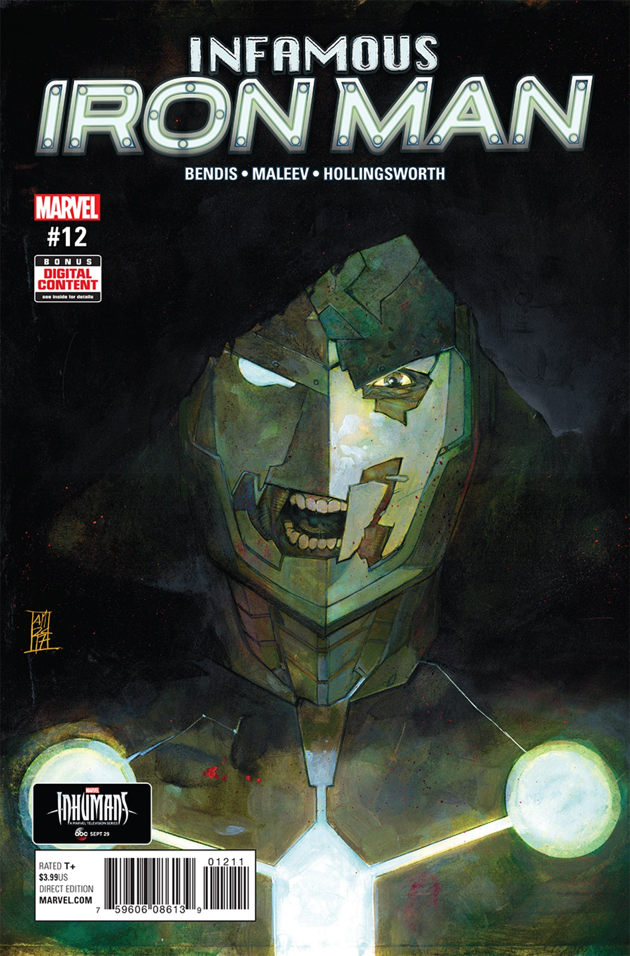 Infamous Iron Man Vol 1 12