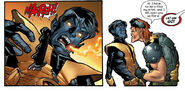 Kurt Wagner and Arcade (Earth-1610) from Ultimate X-Men Vol 1 55 0001
