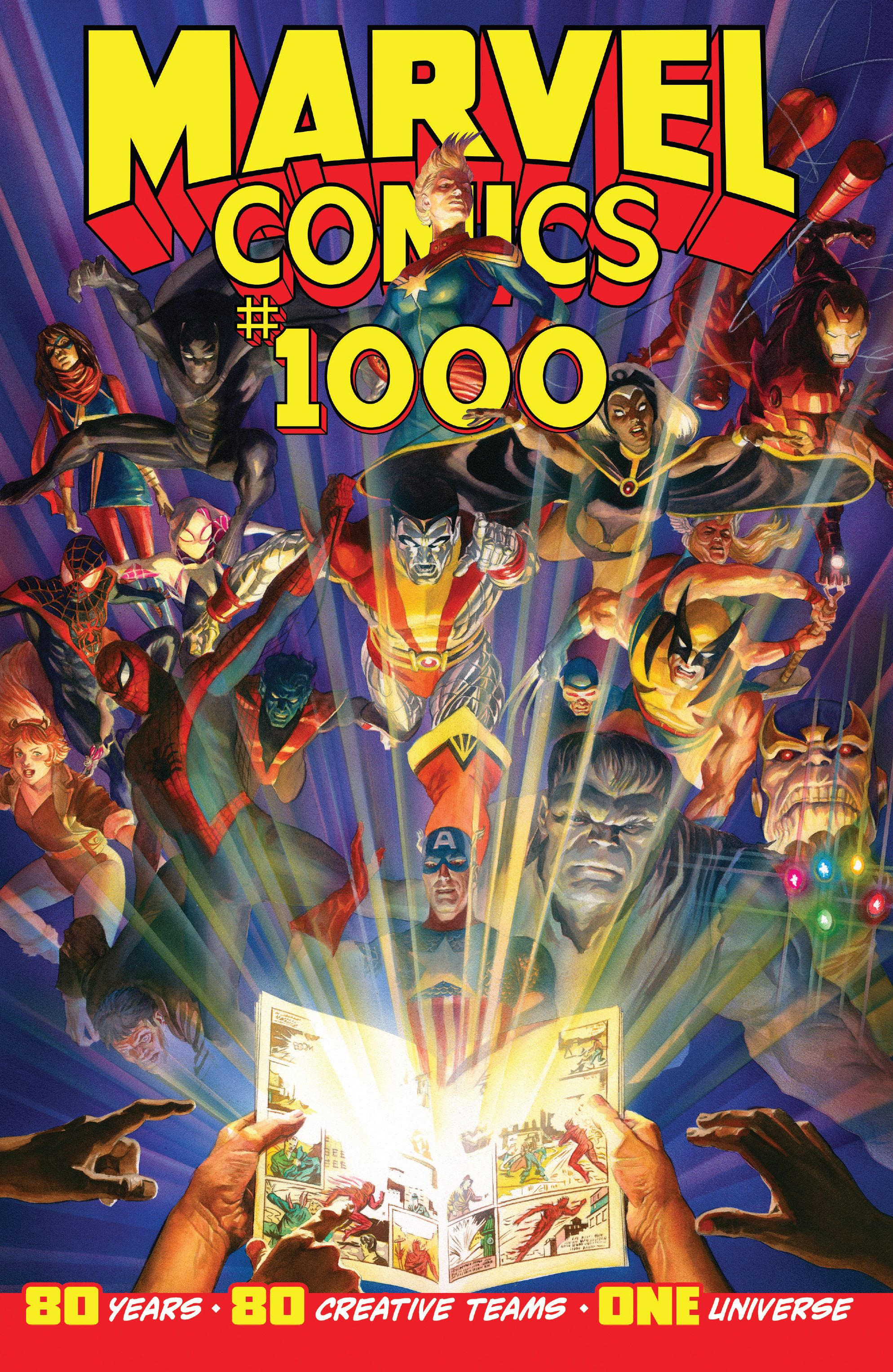 Marvel Comics Vol 1 1000
