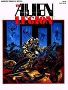Marvel Graphic Novel The Alien Legion — A Grey Day to Die Vol 1 1