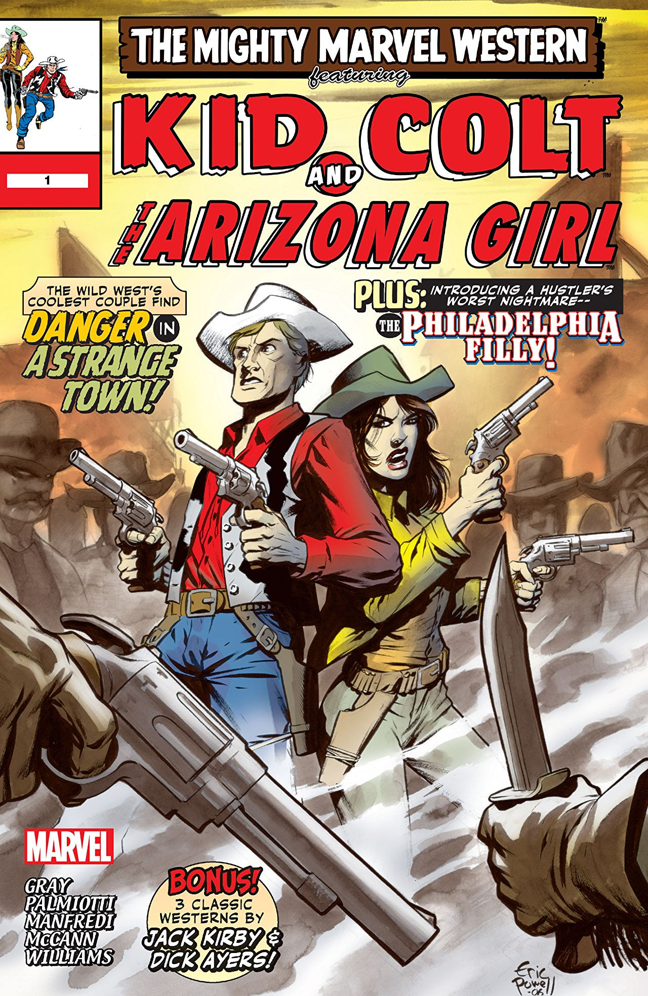 Marvel Westerns: Kid Colt and the Arizona Girl Vol 1 1