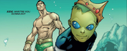 Namor McKenzie (Earth-616) and Mar (Earth-616) from Alpha Flight Vol 3 12 001