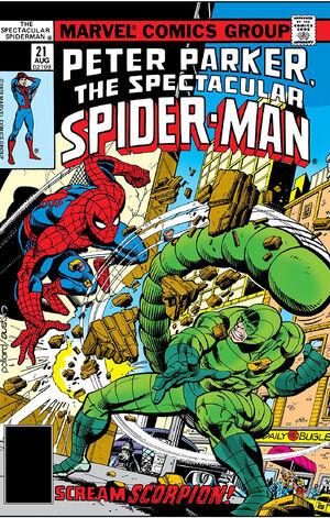 Peter Parker, The Spectacular Spider-Man Vol 1 21.jpg