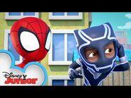 Road Raging Rhino - Marvel's Spidey and His Amazing Friends - @Disney Junior