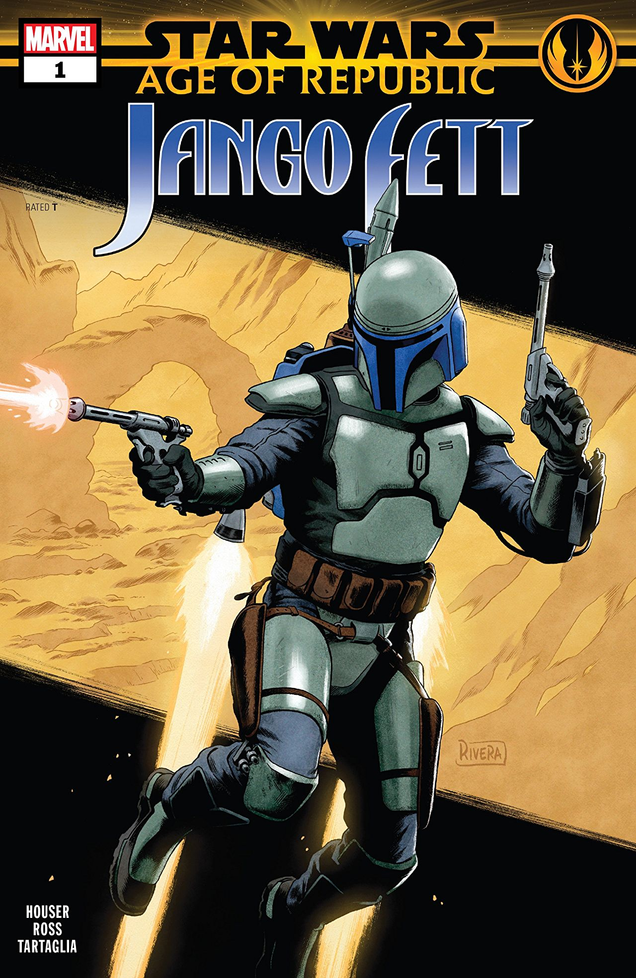 Star Wars: Age of Republic - Jango Fett Vol 1 1