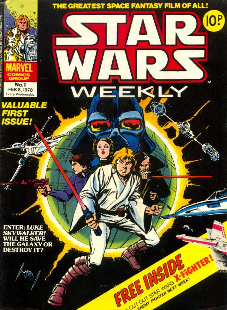 Star Wars Weekly (UK) Vol 1 1