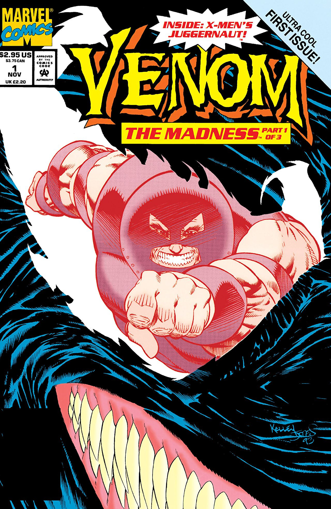 Venom: The Madness Vol 1 1