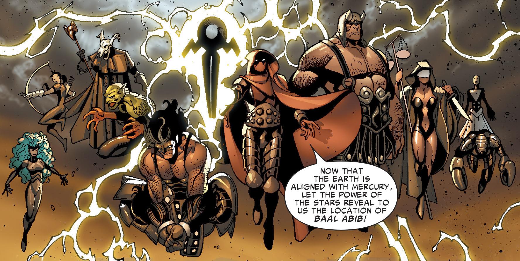 Zodiac (Baal Abib) (Earth-616)