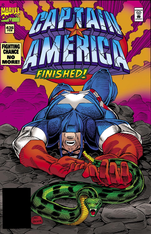 Captain America Vol 1 436