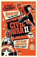 Civil War II Vol 1 3 Cho Variant Textless