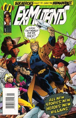 Ex-Mutants Vol 2 1