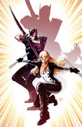 Hawkeye & Mockingbird Vol 1 1 Textless