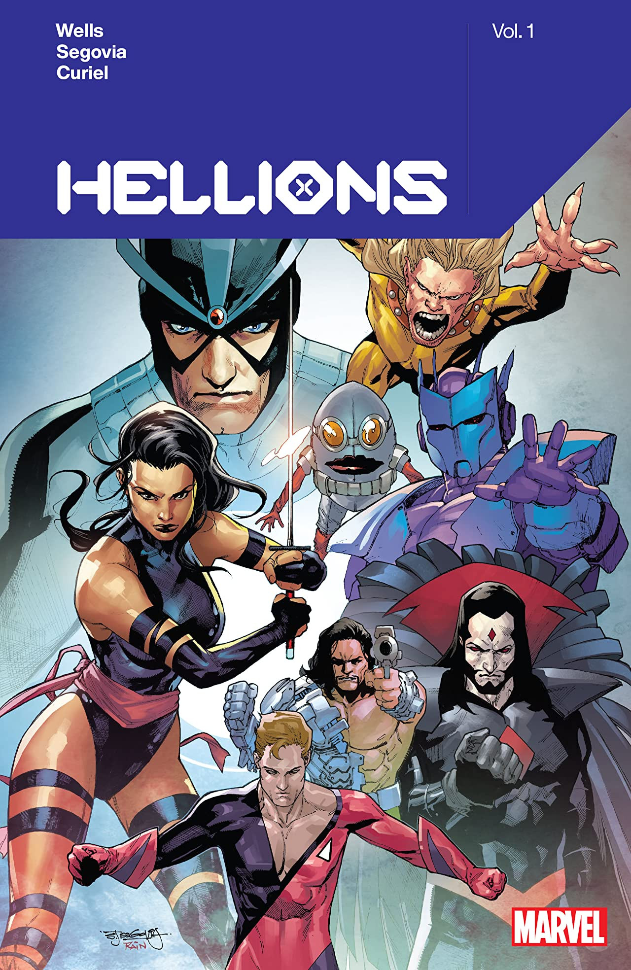 Hellions by Zeb Wells Vol 1