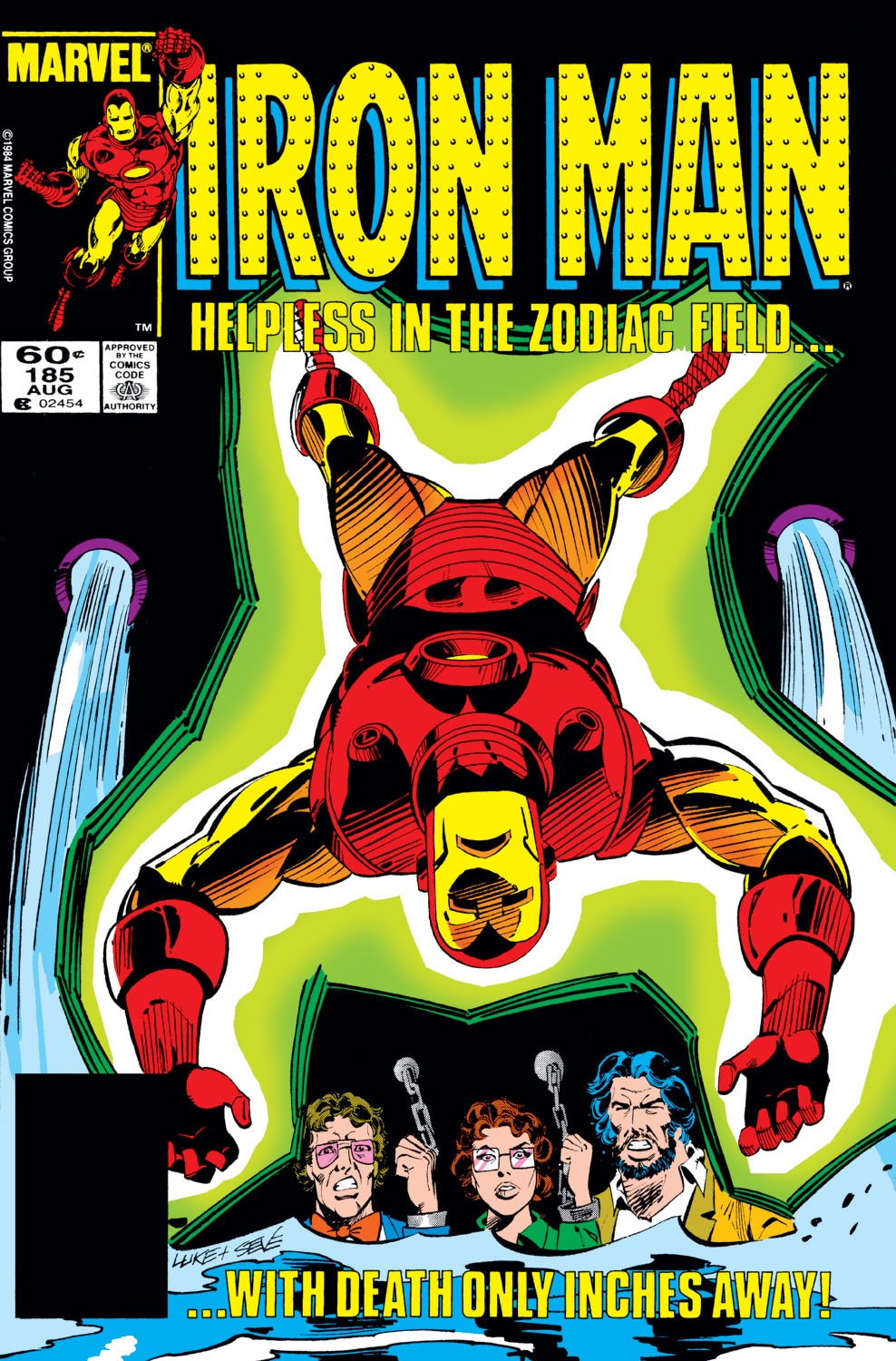 Iron Man Vol 1 185