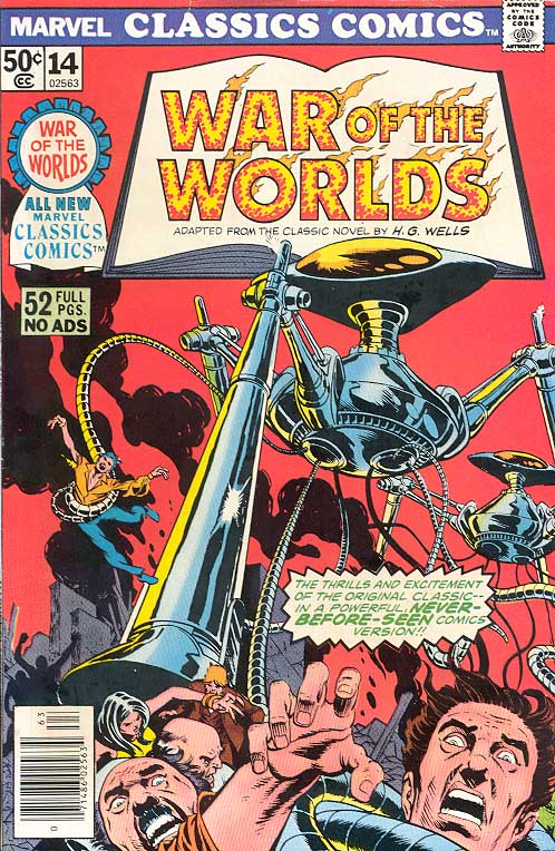 Marvel Classics Comics Series Featuring War of the Worlds Vol 1 1