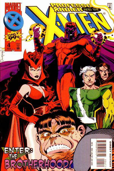 Professor Xavier and the X-Men Vol 1 4