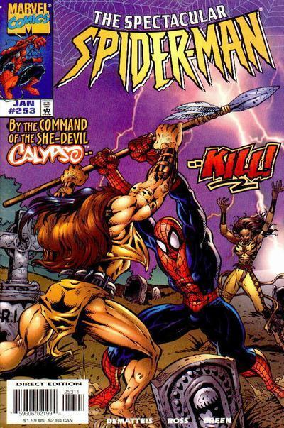 Spectacular Spider-Man Vol 1 253