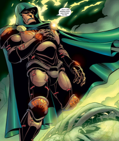 Doctor Doom's Mystical Armor