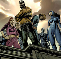 Wolfpack (Earth-58163) and Carl Lucas (Earth-58163) from House of M Avengers Vol 1 3 0001.jpg