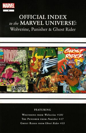 Wolverine, Punisher & Ghost Rider Official Index to the Marvel Universe Vol 1 4.jpg