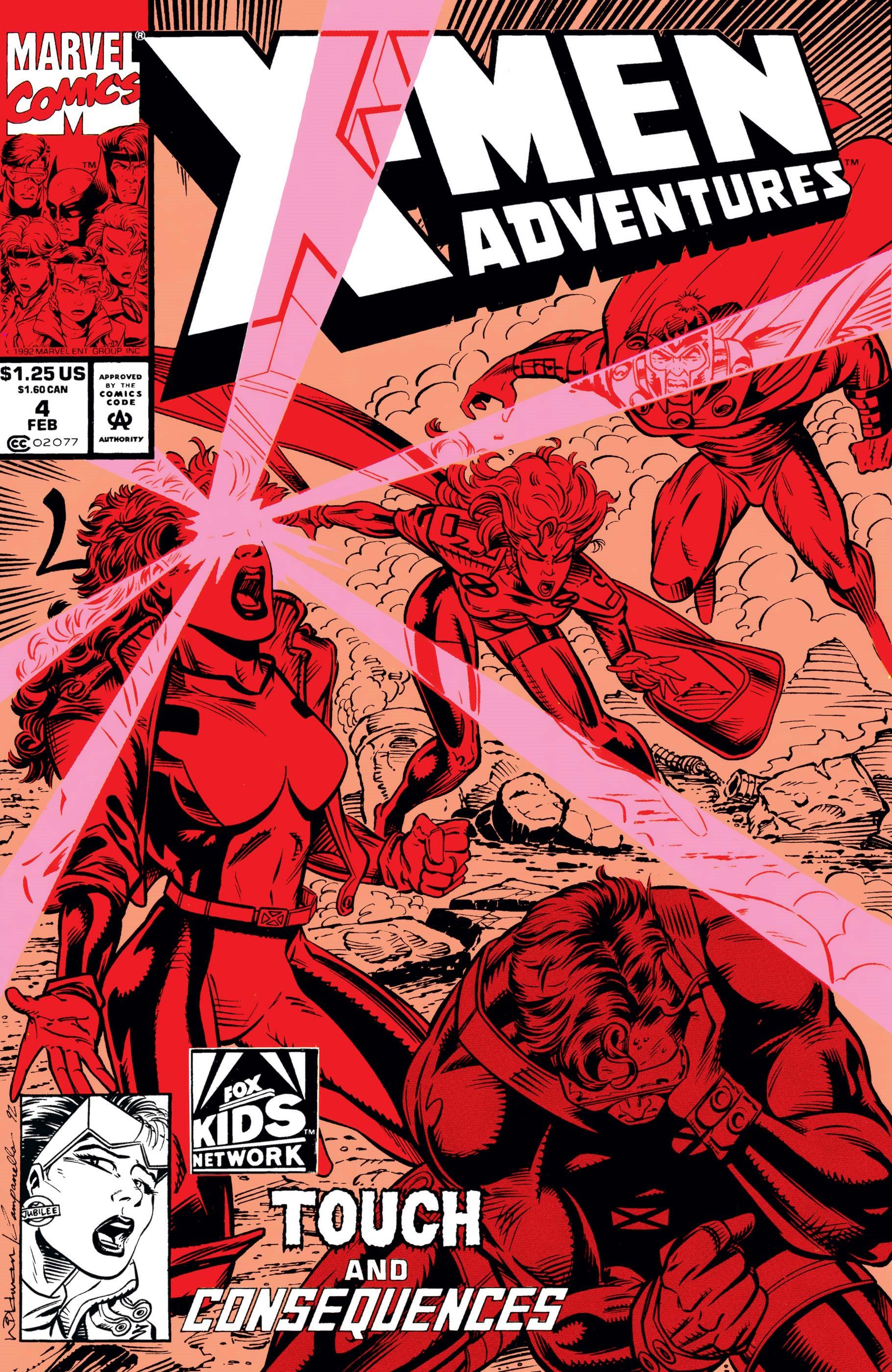 X-Men Adventures Vol 1 4