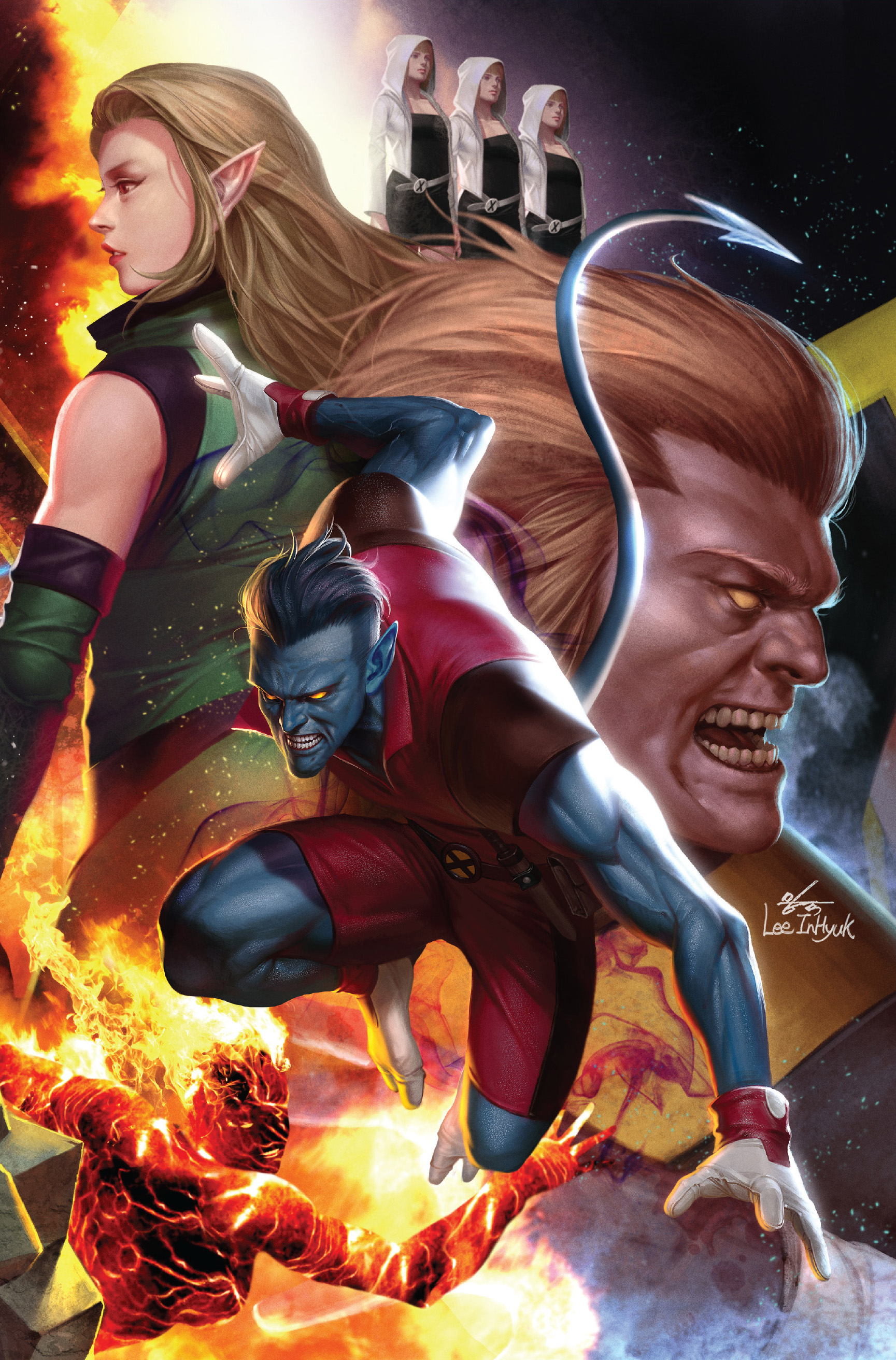 Age of X-Man The Amazing Nightcrawler Vol 1 1 Lee Connecting Variant Textless.jpg