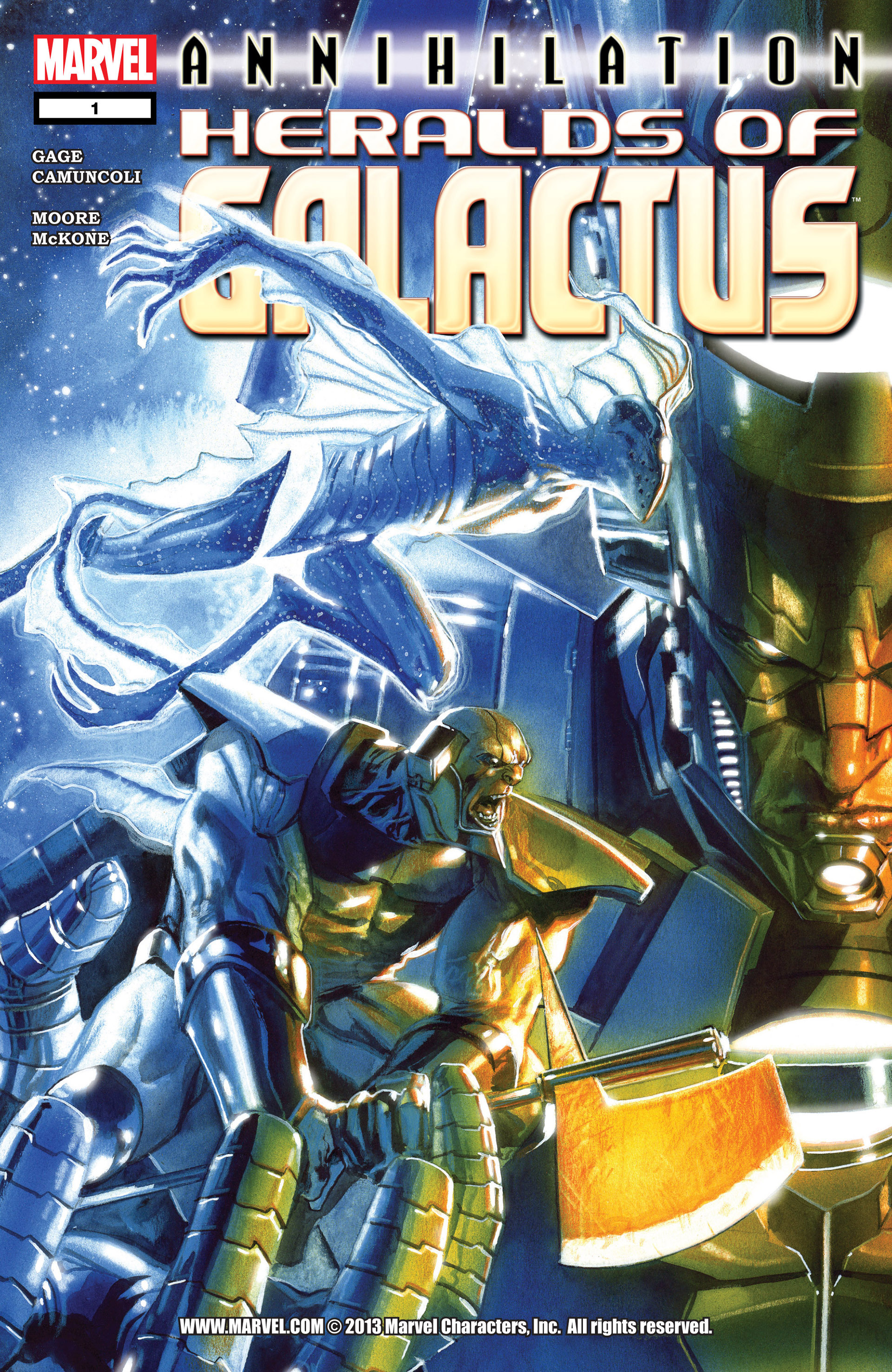 Annihilation: Heralds of Galactus Vol 1 1