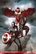 Captain America Hail Hydra Vol 1 3 Textless