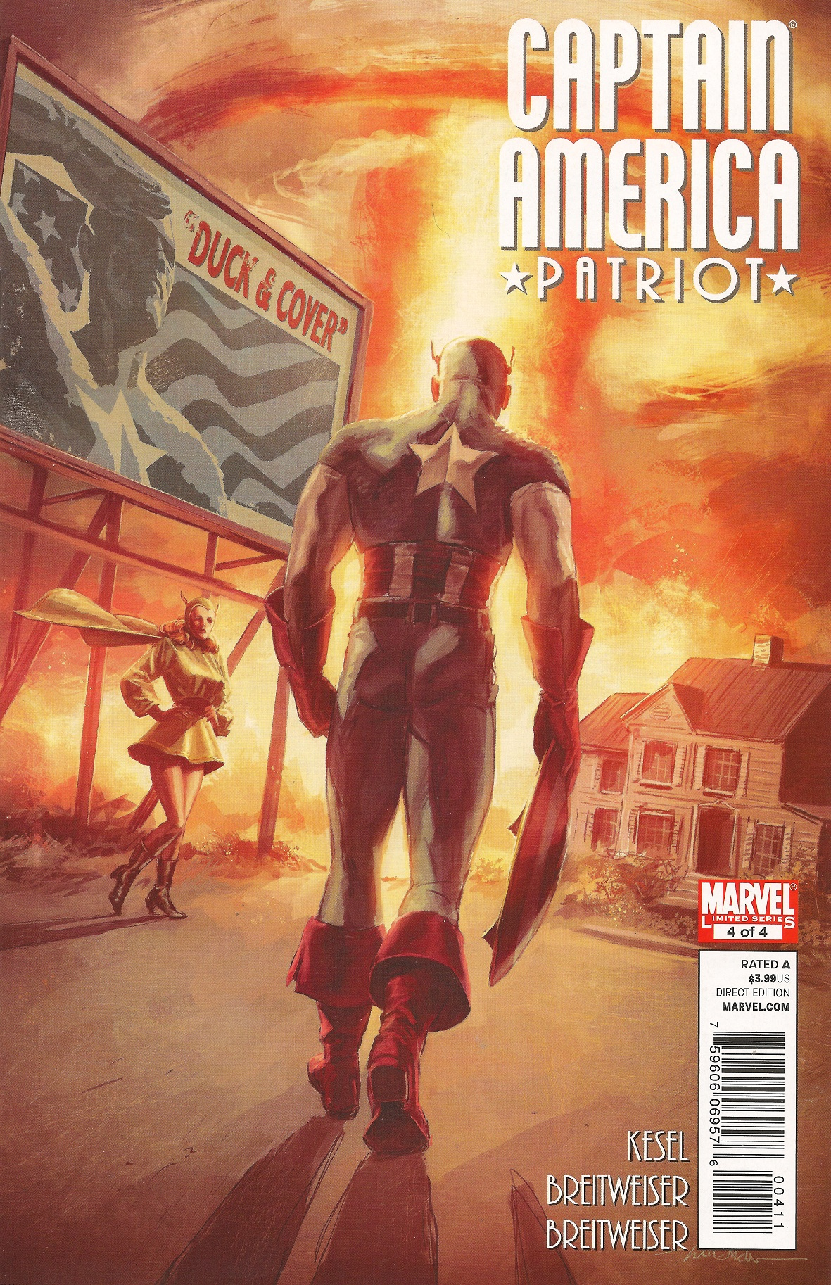 Captain America: Patriot Vol 1 4