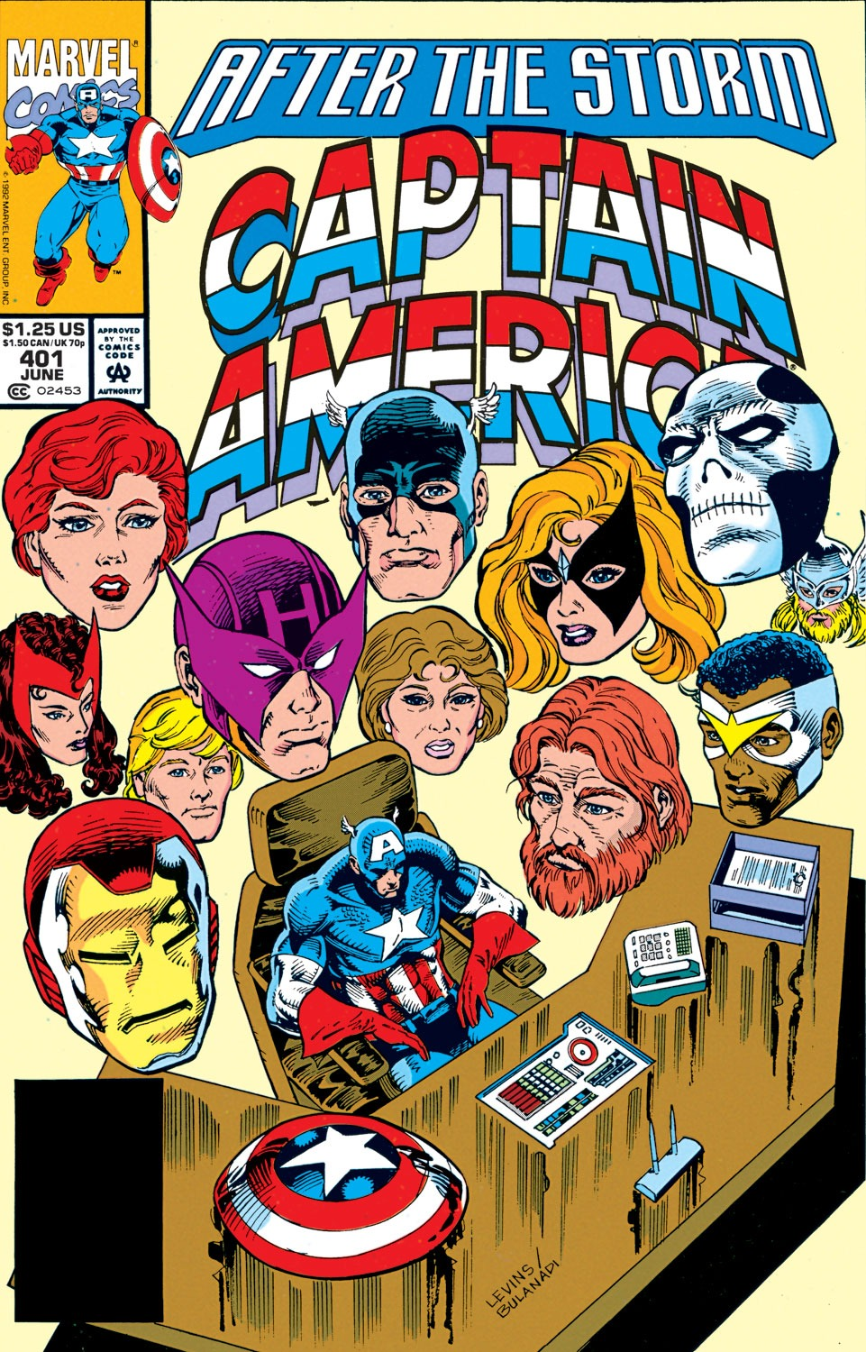 Captain America Vol 1 401