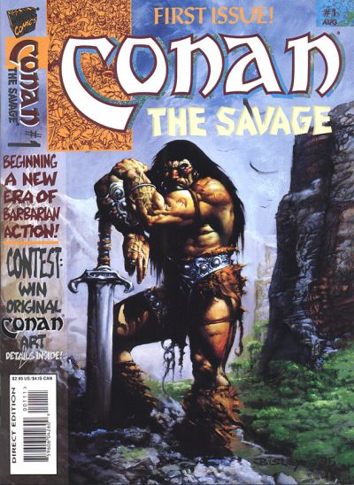 Conan the Savage Vol 1