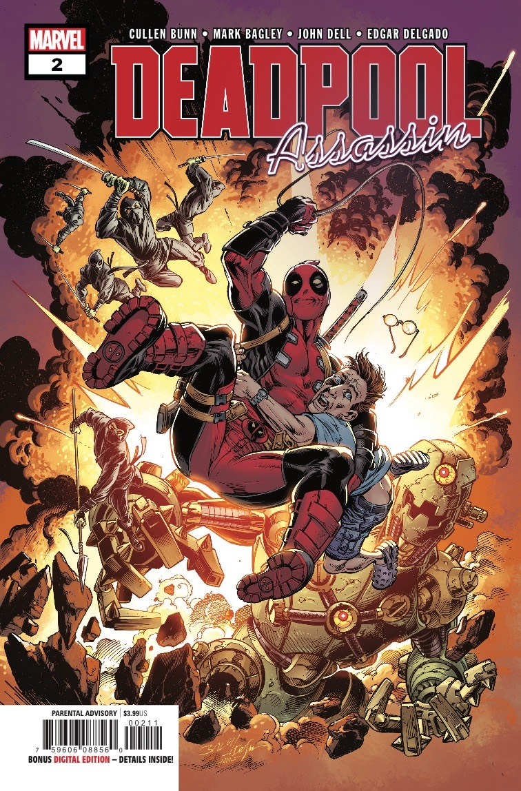 Deadpool: Assassin Vol 1 2