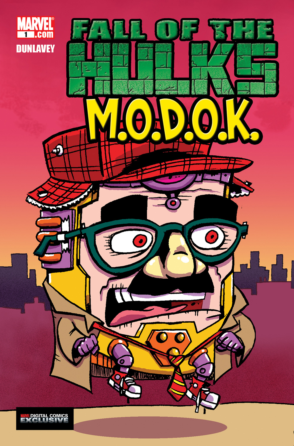 Fall of the Hulks: M.O.D.O.K. Vol 1 1