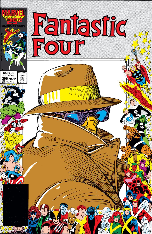 Fantastic Four Vol 1 296
