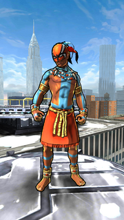 Kwaku Anansi (Earth-TRN535) from Spider-Man Unlimited (video game).png