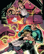 Layla Miller (Earth-616) and James Madrox (Earth-616) from X-Factor Vol 3 25 001