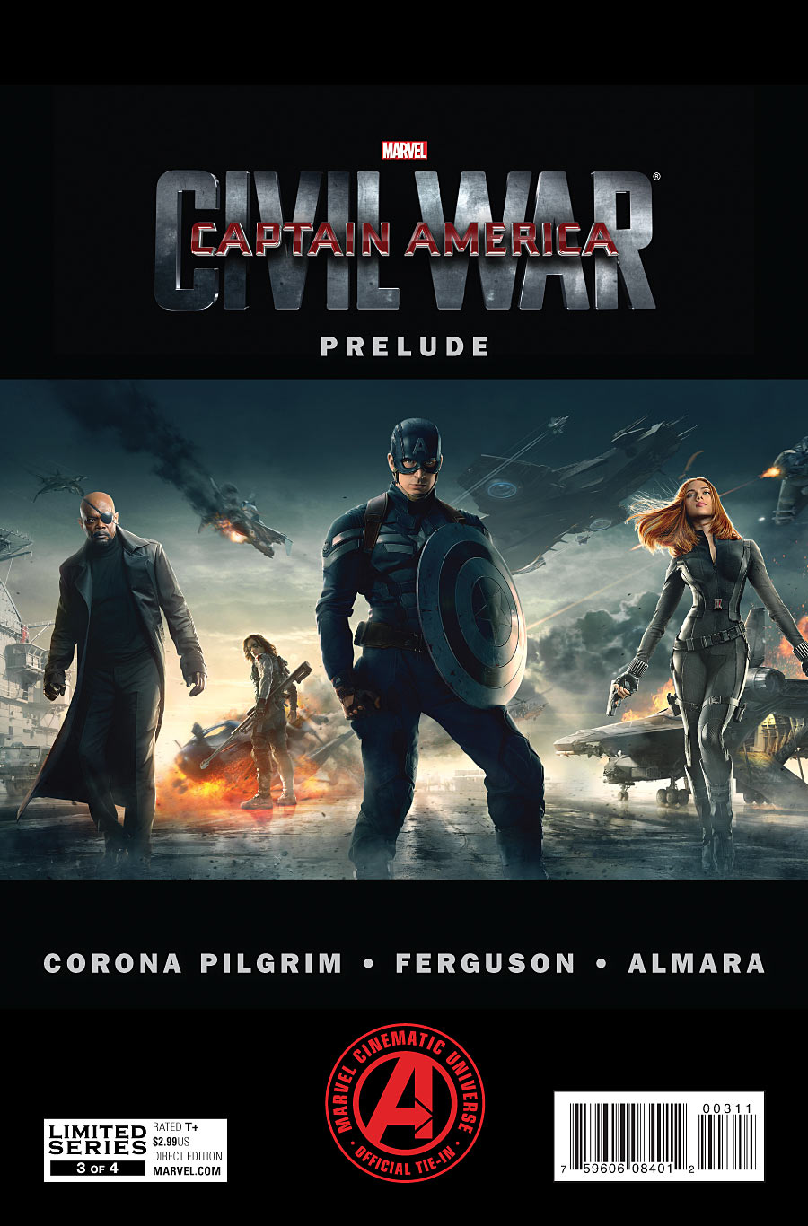 Marvel's Captain America: Civil War Prelude Vol 1 3
