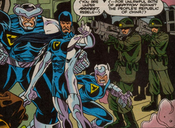People's Protection Agency and China Force from X-Force Annual Vol 1 3.png