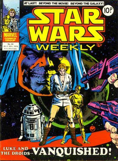 Star Wars Weekly (UK) Vol 1 24