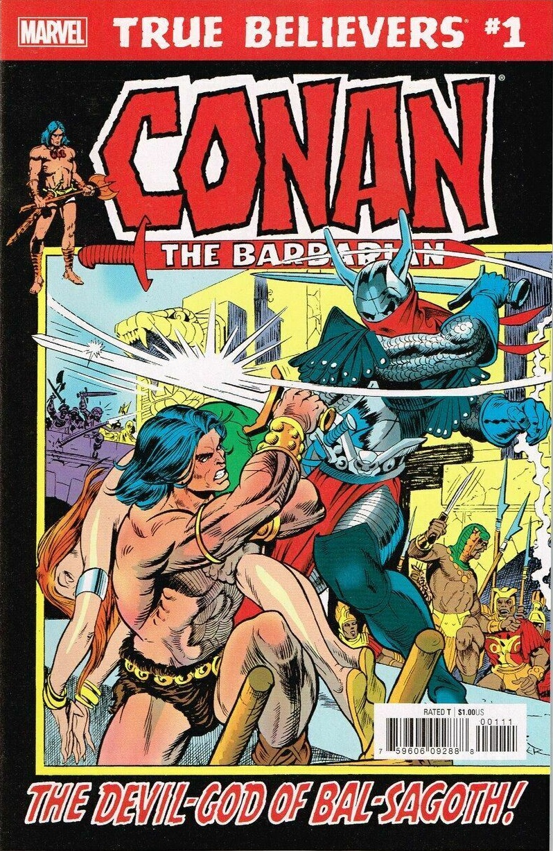 True Believers: Conan - The Devil-God of Bal-Sagoth! Vol 1 1