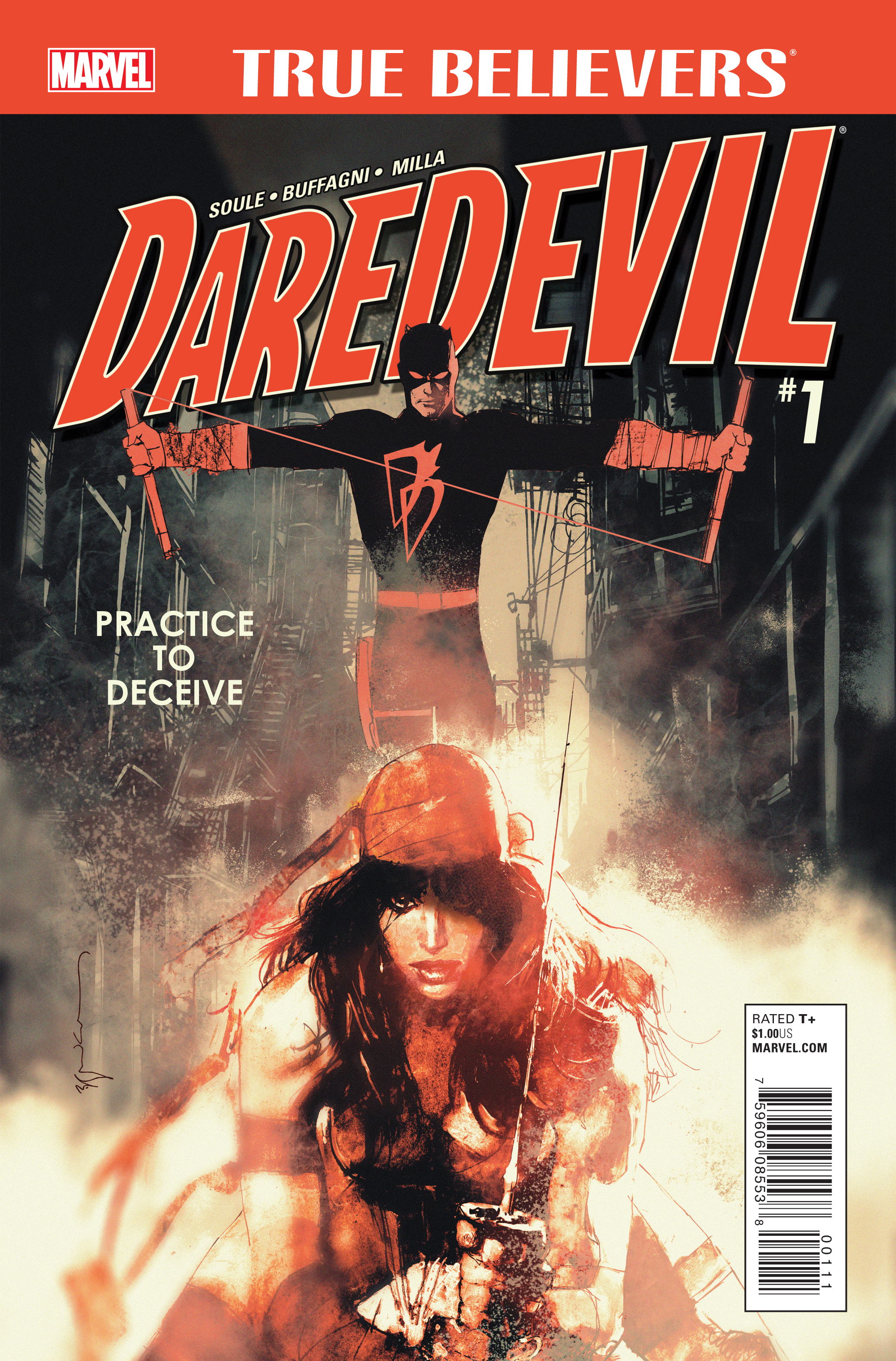 True Believers: Daredevil - Practice To Deceive Vol 1 1