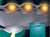 Uranian Flying Saucer