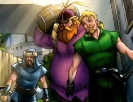Warriors Three (Earth-97161)