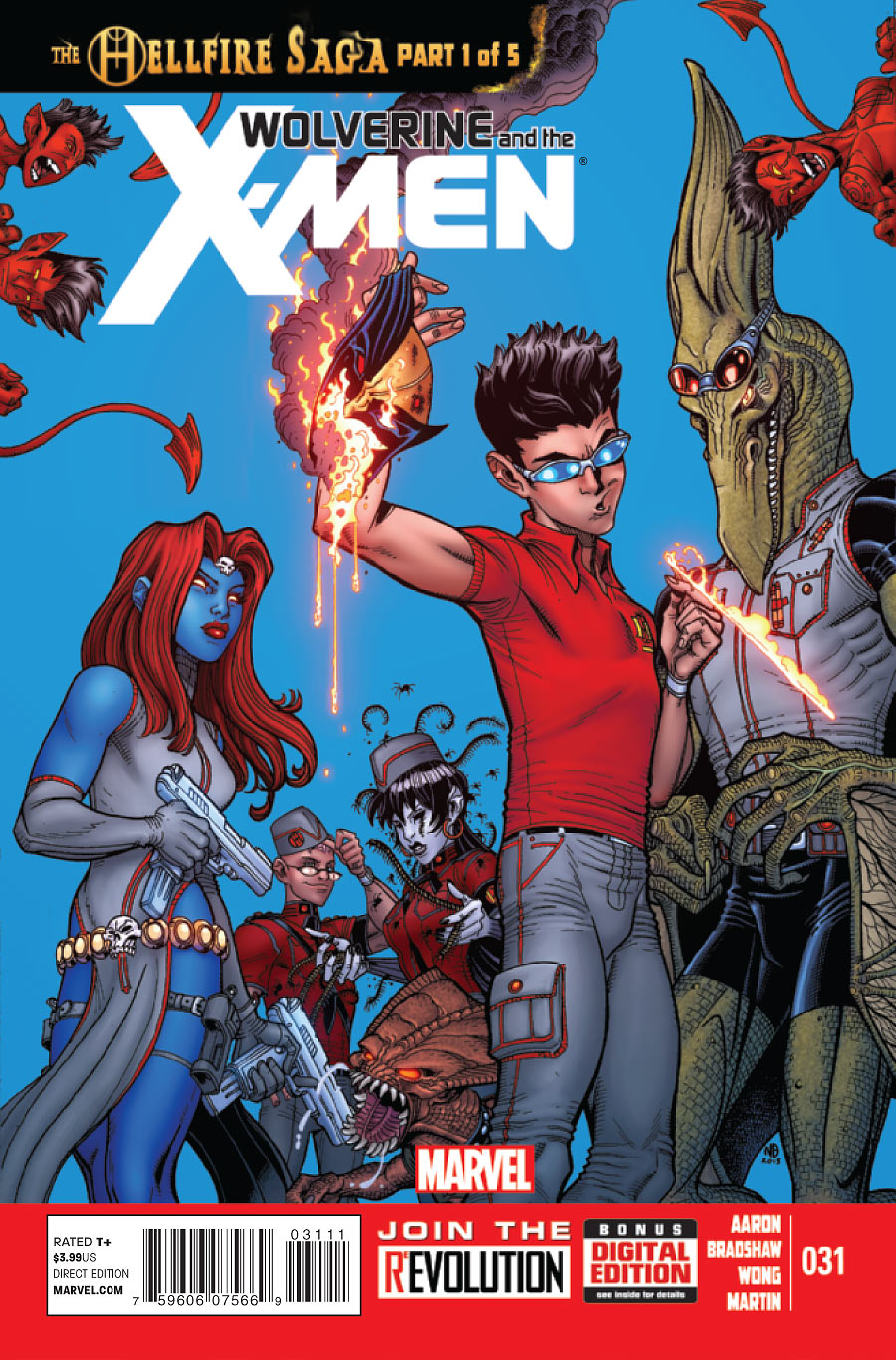 Wolverine and the X-Men Vol 1 31