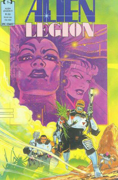 Alien Legion Vol 2 9